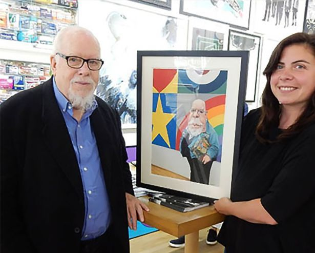 PeterBlake,LindsayAlkin-at-artrepublic