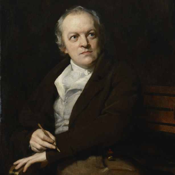 Portrait of William Blake by Thomas Philipsoil on canvas, 1807.National Portrait Gallery, London
