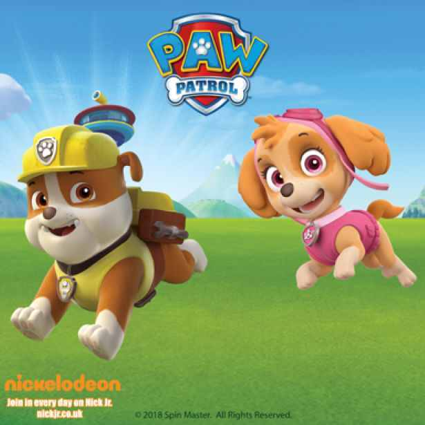 Event Listing, Paw Patrol, Skye and Rubble