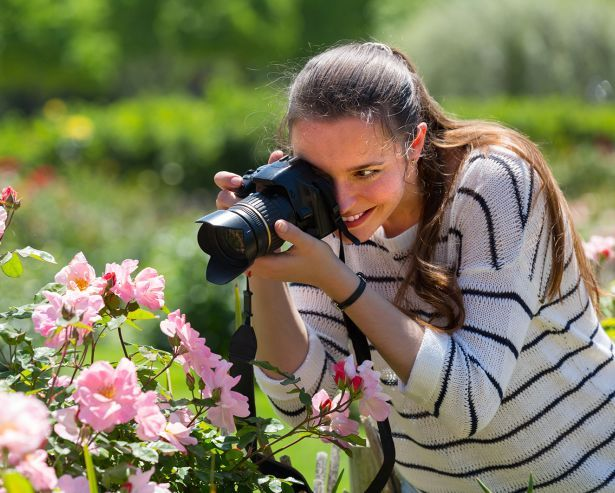 Haskins encourages gardeners to share photos of their best rose on social media