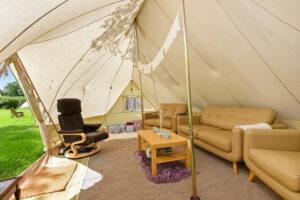 glamping, camping in Kent, luxury camping